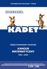 Matematyka z wesołym kangurem Kadet 2020