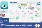 iM-Words Puzzle 96 Angielski - Podróż