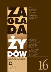 Zagłada Żydów Studia i Materiały nr 16 R.2020