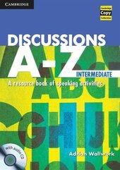 Discussions A-Z Intermediate Book with Audio CD