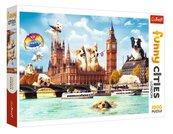 Puzzle 1000 Psy w Londynie TREFL