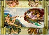 Puzzle 1000 Stworzenie Adama, Michał Anioł