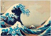 Puzzle 1000 Wielka fala, Hokusai