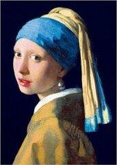 Puzzle 1000 Dziewczyna z perłą, Vermeer