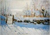 Puzzle 1000 Zima, Monet