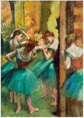 Puzzle 1000 Różowa i zielona tancerka, Degas