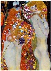 Puzzle 1000 Wodne serpentyny, II Gustav Klimt