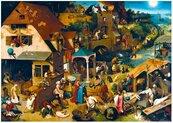 Puzzle 1000 Przysłowia, Brueghel