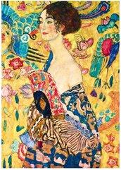 Puzzle 1000 Kobieta z wachlarzem, Gustav Klimt