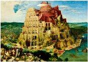 Puzzle 1000 Wieża Babel, Brueghel