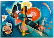 Puzzle 1000 Niebieski , Kandinsky