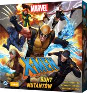 X-Men: Bunt mutantów (gra planszowa) + Gratis + Gratis