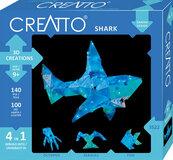 Creatto Świecący rekin i wodni przyjaciele