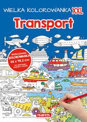 Wielka kolorowanka XXL - Transport