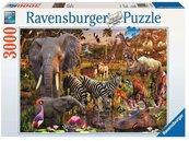 Puzzle 3000 Zwierzęta Afryki
