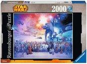 Puzzle 2000 Uniwersum Gwiezdnych Wojen