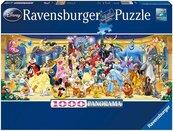 Puzzle 1000 Panorama Postacie Disney
