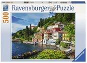 Puzzle 500 Jezioro Como, Włochy