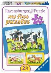 Puzzle 3x6 Zwierzaki