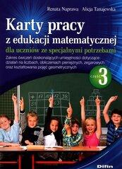 Karty pracy z edukacji matematycznej dla uczniów ze specjalnymi potrzebami Część 3