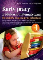 Karty pracy z edukacji matematycznej dla uczniów ze specjalnymi potrzebami. Część 1