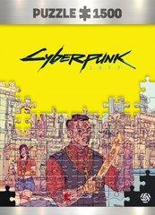 Puzzle Cyberpunk 2077 Valentinos 1500 elementów