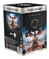 Good Loot Puzzle Elder Scrolls: Vista of Greymoor 1000 elementów