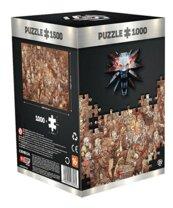 Good Loot Puzzle The Witcher (Wiedźmin): Birthday 1000 elementów