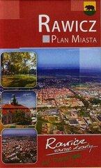 Rawicz plan miasta z mapą