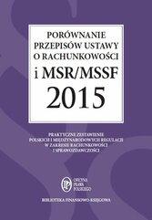 Porównanie przepisów ustawy o rachunkowości i MSR/MSSF 2015 + CD