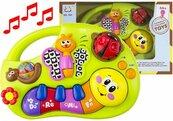 Muzyczne pianinko dla maluszka gąsienica Do Re Mi