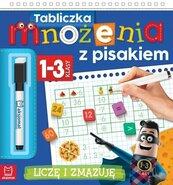 Tabliczka mnożenia z pisakiem Klasy 1-3. Liczę i zmazuję