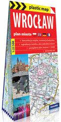 Wrocław foliowany plan miasta 1:22 500