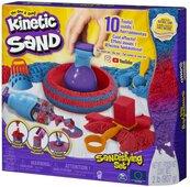 Kinetic Sand Zestaw z mega akcesoriami 907g