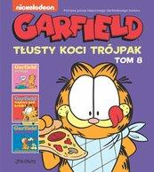 Garfield Tłusty koci trójpak Tom 8