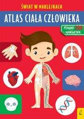 Atlas ciała człowieka Świat w naklejkach