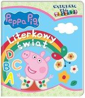 Peppa Pig Wyzwania dla malucha Literkowy świat