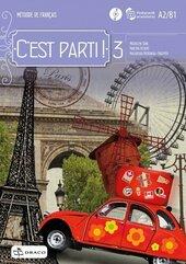 C'est parti! 3 podręcznik wieloletni + CD DRACO