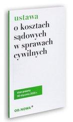 Ustawa o kosztach sądowych 30.01.2020
