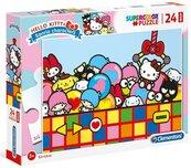 Puzzle 24 Maxi Super Kolor Hello Kitty