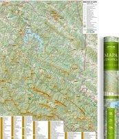Mapa zdrapka - Bieszczady 1:75 000