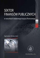 Sektor finansów publicznych w warunkach światowego kryzysu finansowego
