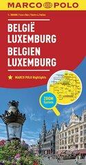 Belgia Luxemburg mapa