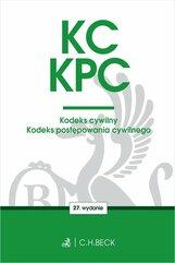 KC KPC Kodeks cywilny Kodeks postępowania cywilnego