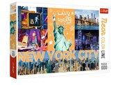 Puzzle 1000 Neon Color Line - Neonowe miasto TREFL