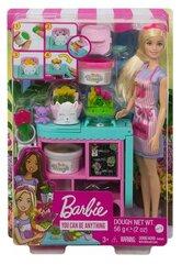 Barbie Lalka + zestaw Kwiaciarnia