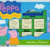 Pieczątki w walizce Świnka Peppa