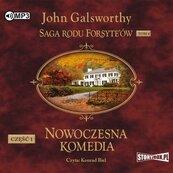 Saga rodu Forsyte'ów T.4 Nowoczesna... cz.1 CD