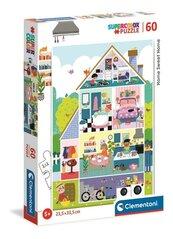 Puzzle 60 Super Kolor Home Sweet Home