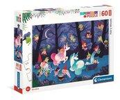 Puzzle 60 Maxi Super Kolor Fairy Woods